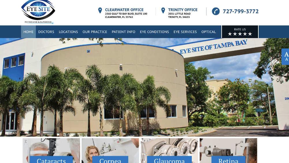website design for GCSA